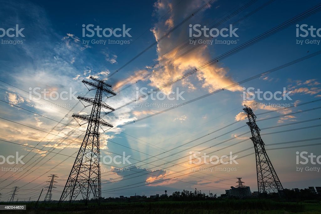 the pylon stock photo
