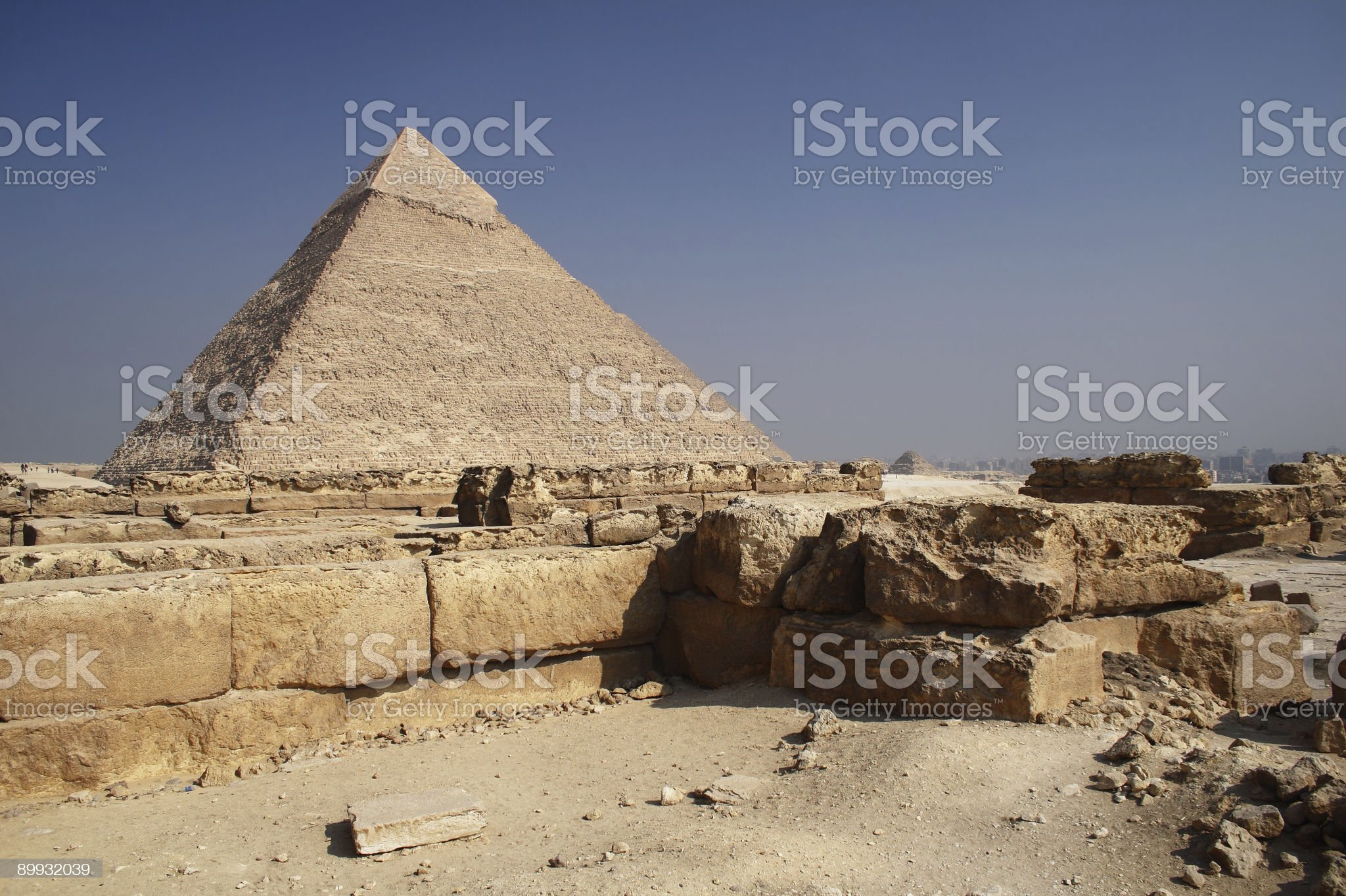 The Pyramid in Egypt royalty-free stock photo