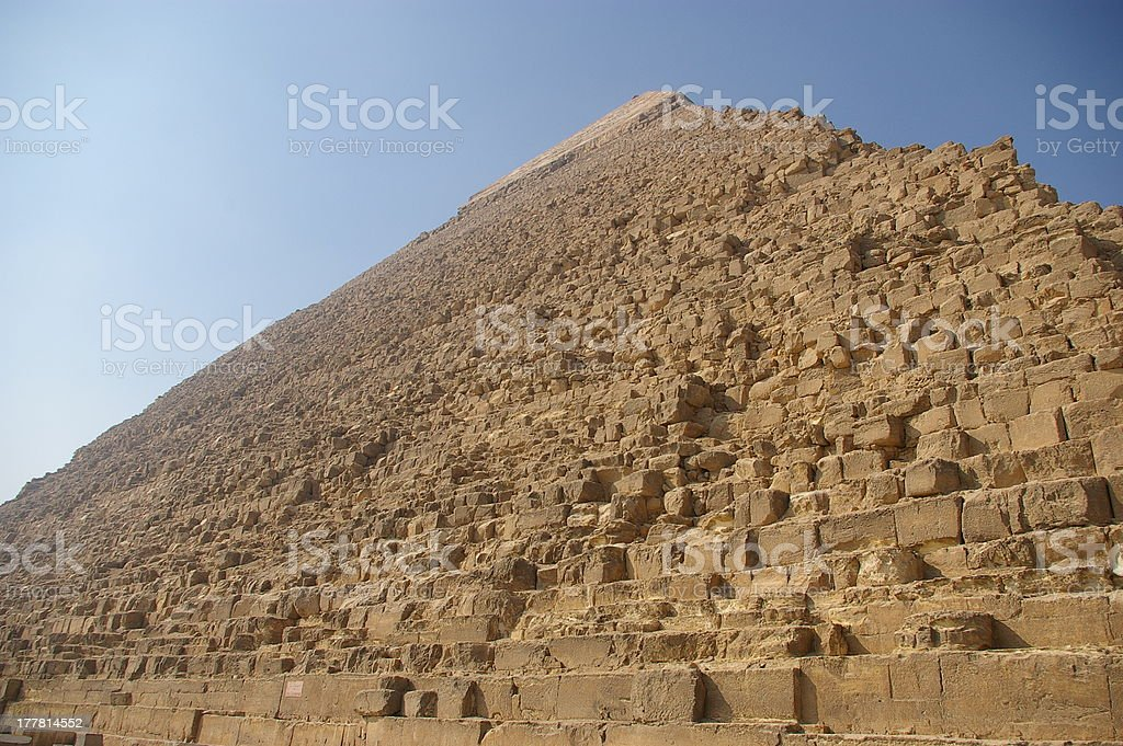 The Pyramid of Chefren royalty-free stock photo