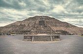 The Pyramid of the Sun, Teotihuacan.