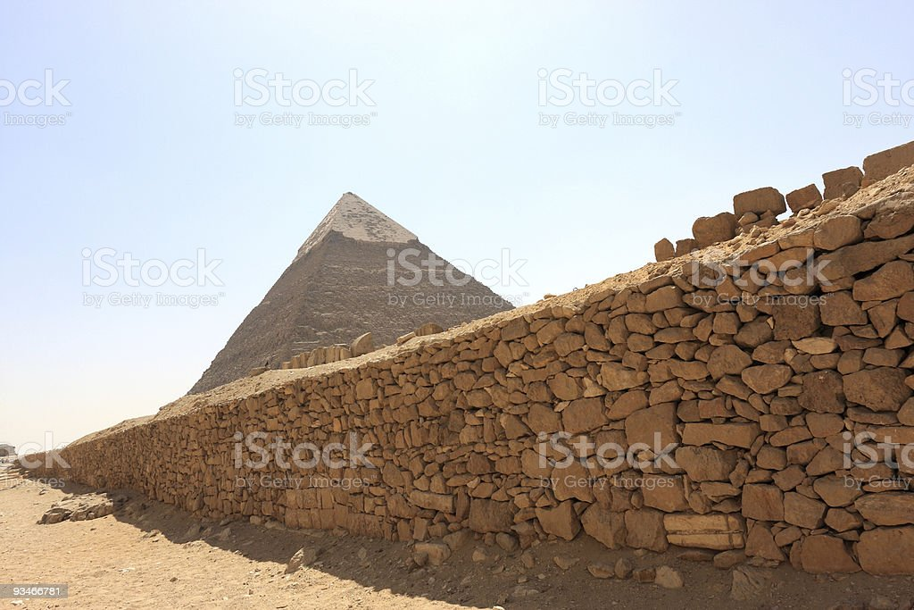 The Pyramid royalty-free stock photo