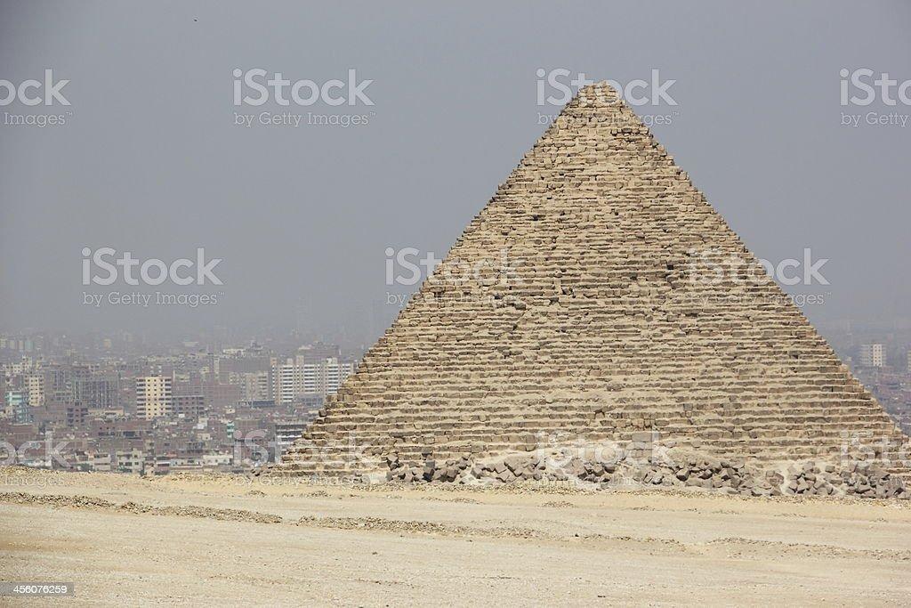 The Pyramids of Giza, Cairo, Egypt. royalty-free stock photo