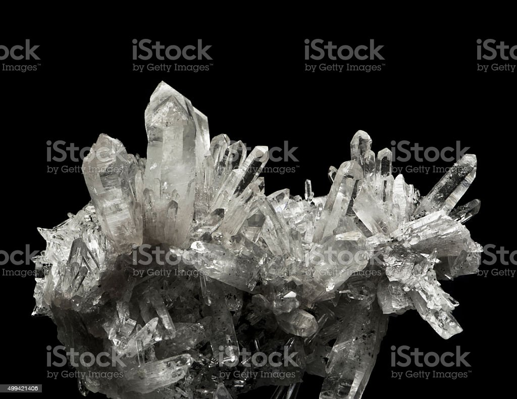 the quartz stock photo