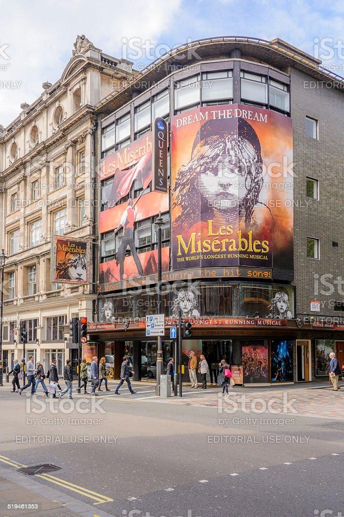 The Queens Theatre - London stock photo