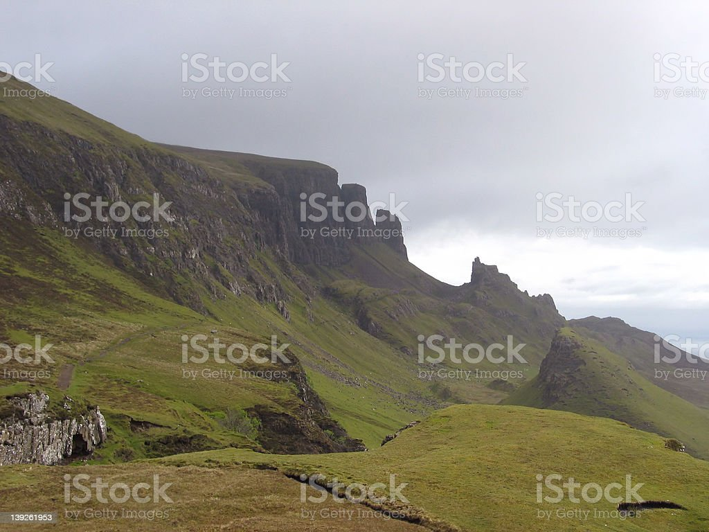The Quiraing stock photo