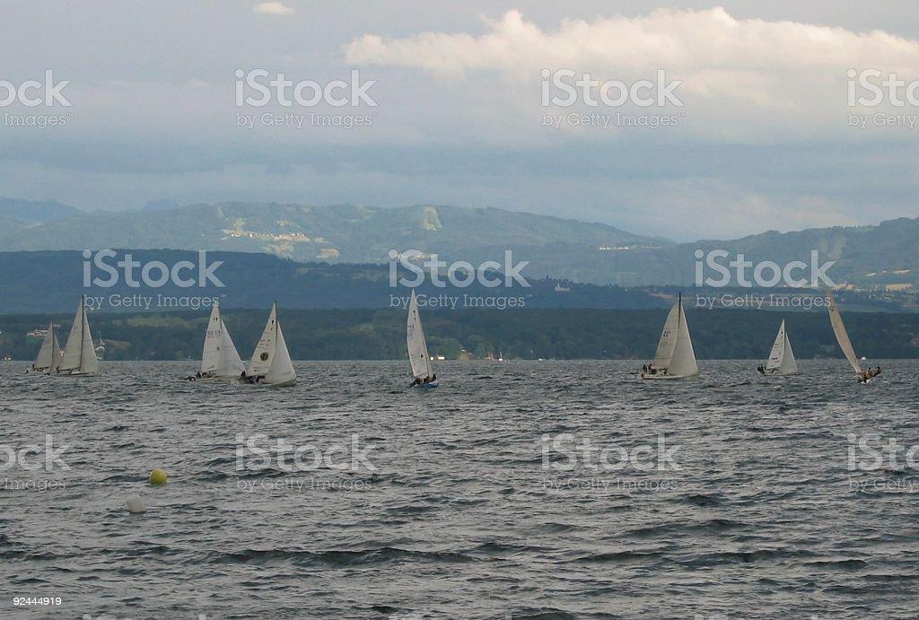 The race stock photo