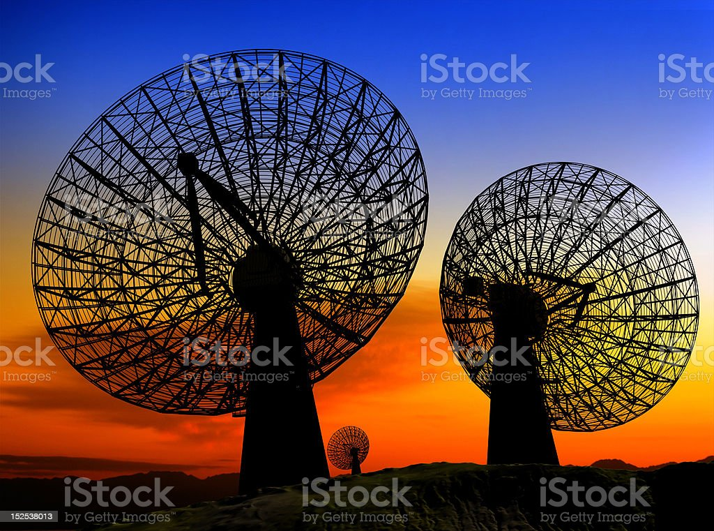 The radar royalty-free stock photo