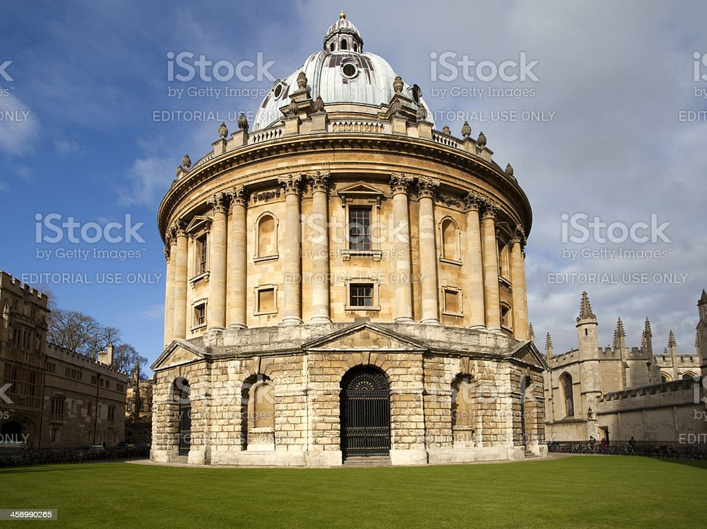 The Radcliffe Camera Building, Oxford University stock photo