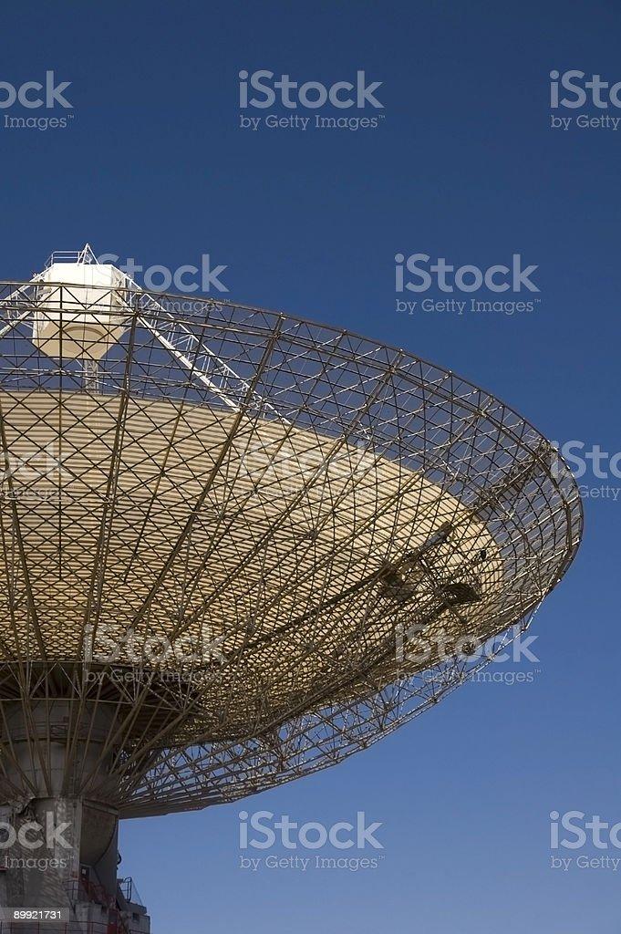 The Radio Telescope royalty-free stock photo