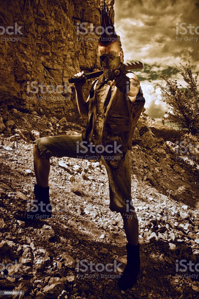 The Raider's army needs you stock photo