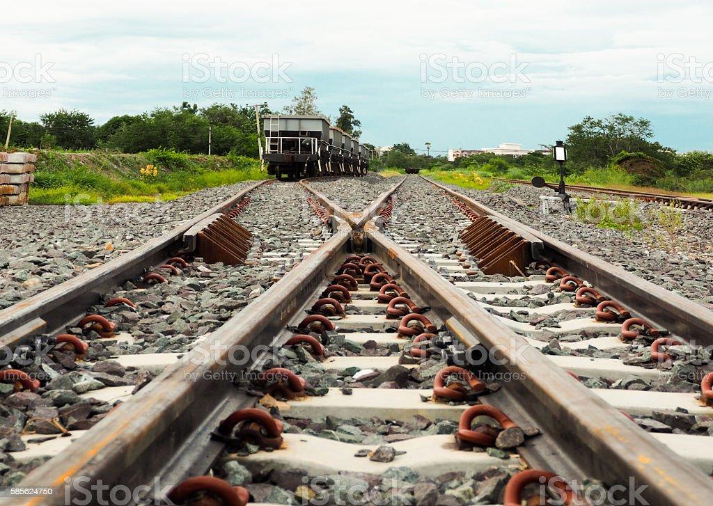 The Railway. stock photo
