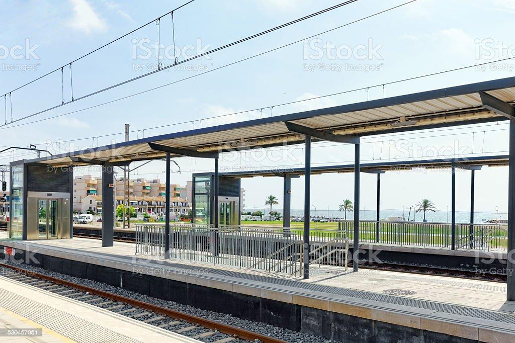 The Railways Stations. stock photo