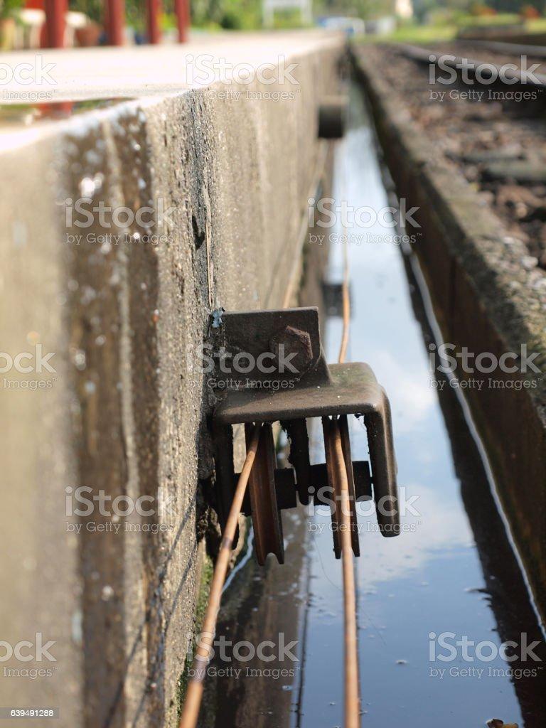 The raiway stock photo