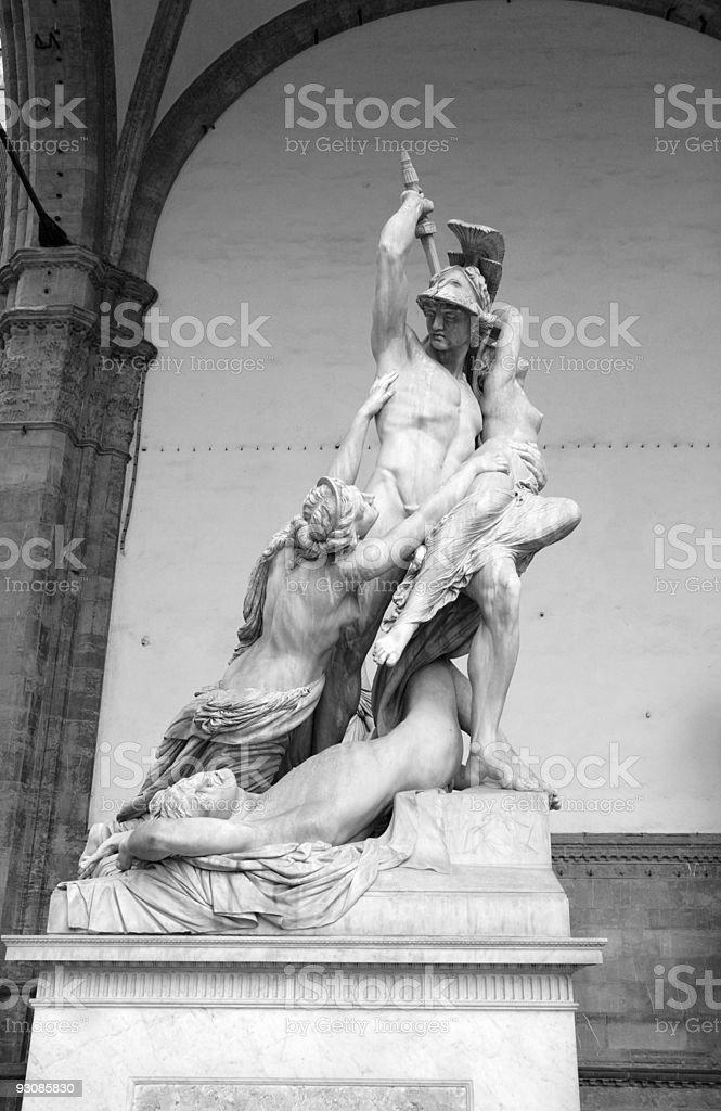 The Rape of Polyxena royalty-free stock photo