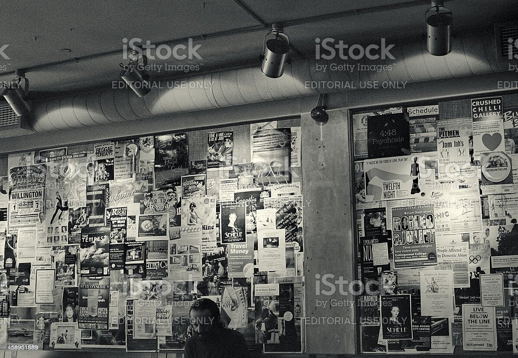 The reader - Starbucks bar, indoors royalty-free stock photo