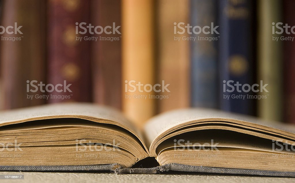 The reading room royalty-free stock photo