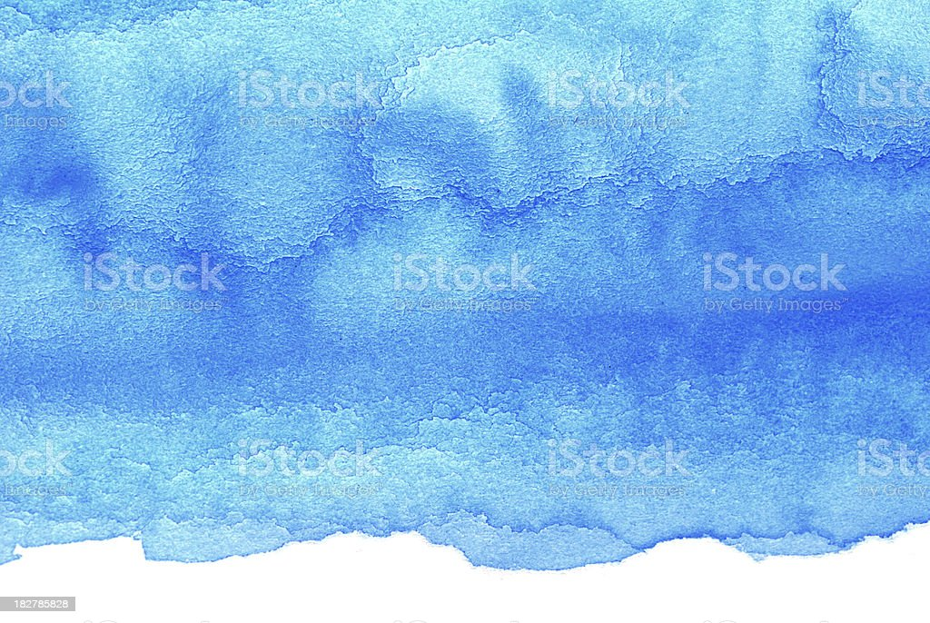The Real Blue Frame royalty-free stock photo