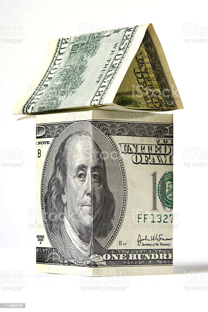 The real estate is a big money stock photo