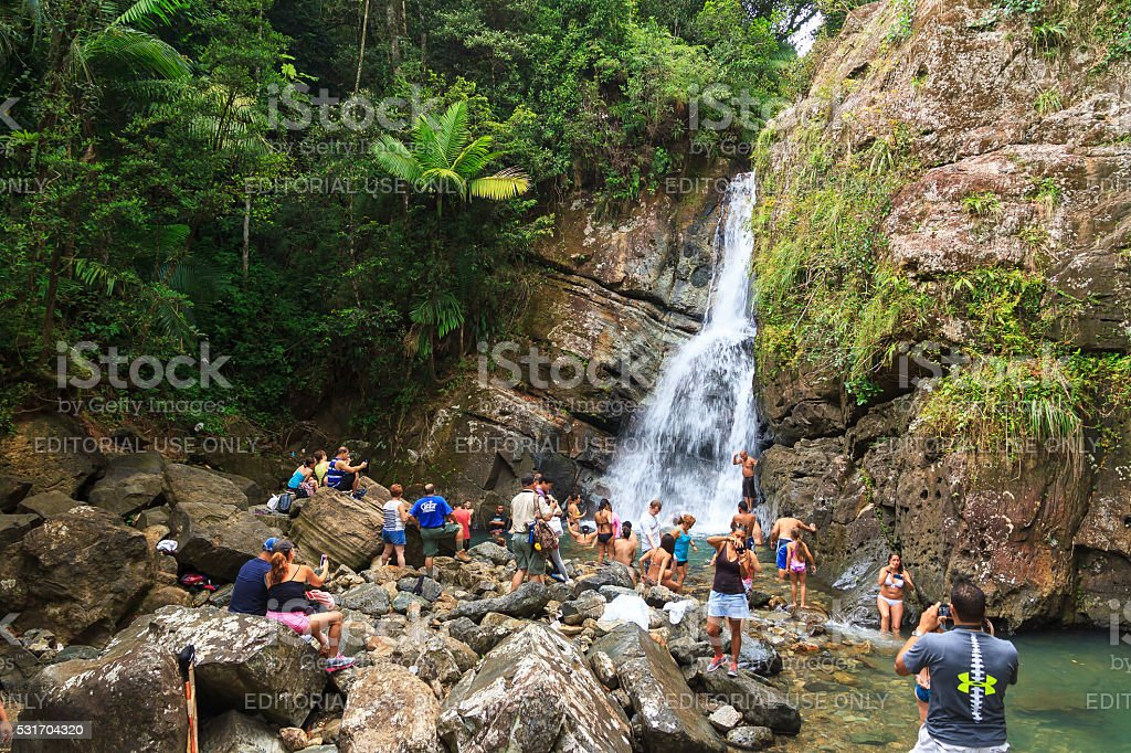 El Yunque reality stock photo