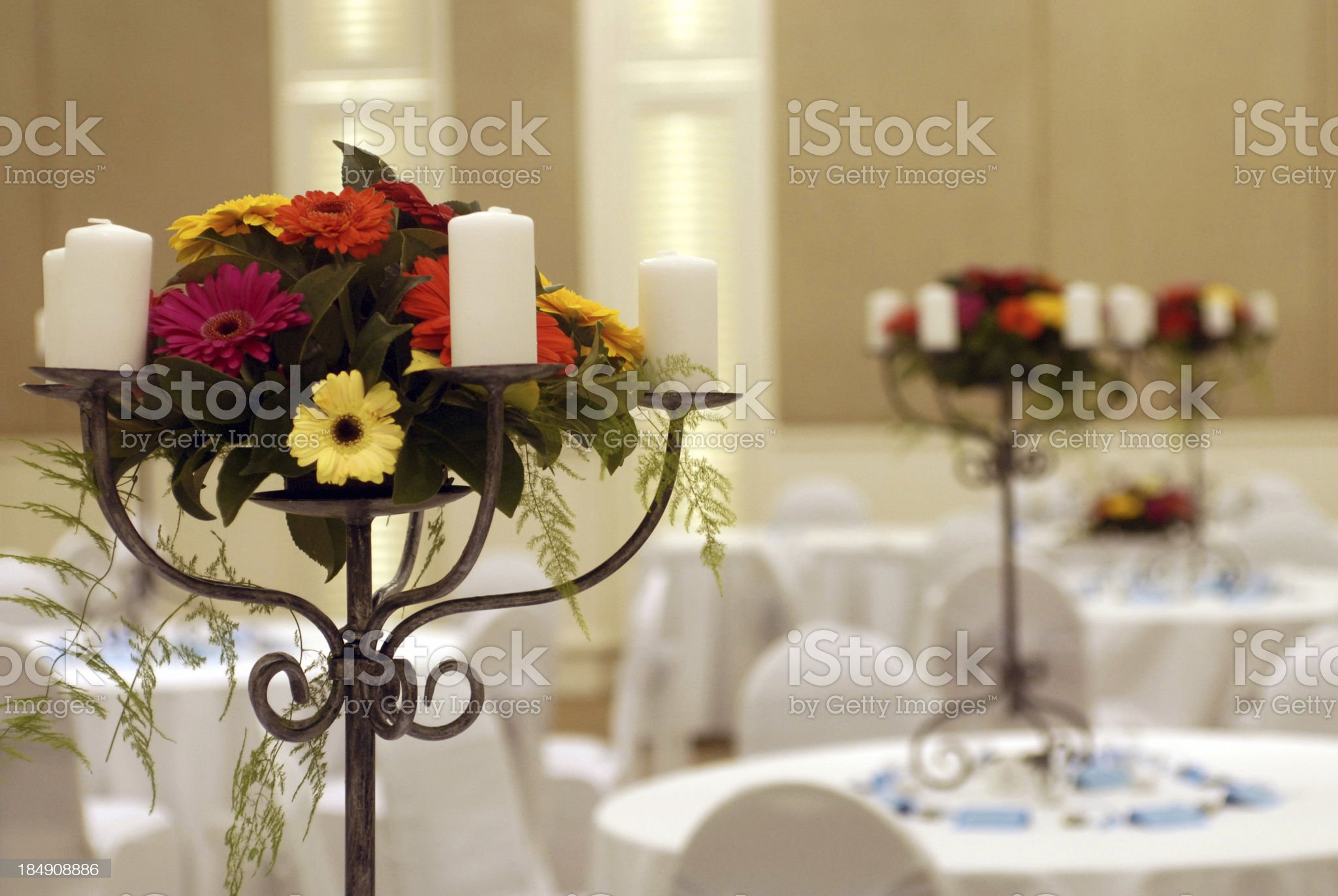 The reception royalty-free stock photo