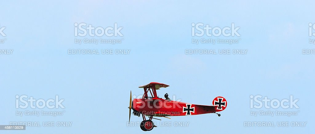 The Red Baron stock photo