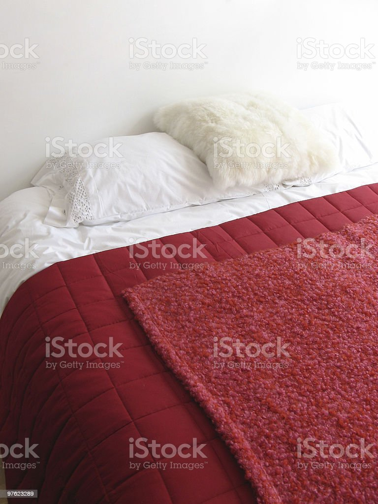 The Red Bed 2 royalty-free stock photo