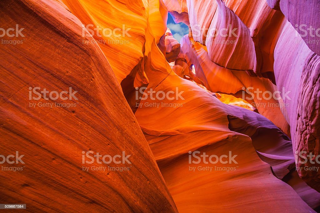 The red colored clay stock photo