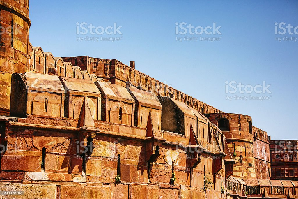 The Red Fort stock photo