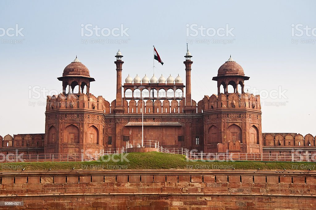 The Red Fort royalty-free stock photo