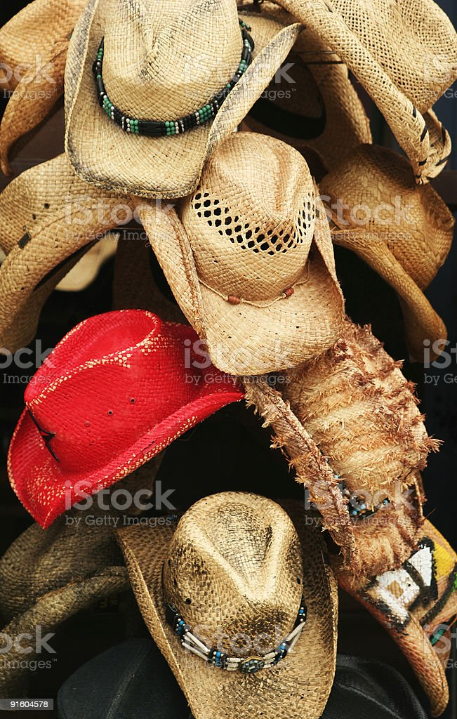 The Red Hat royalty-free stock photo
