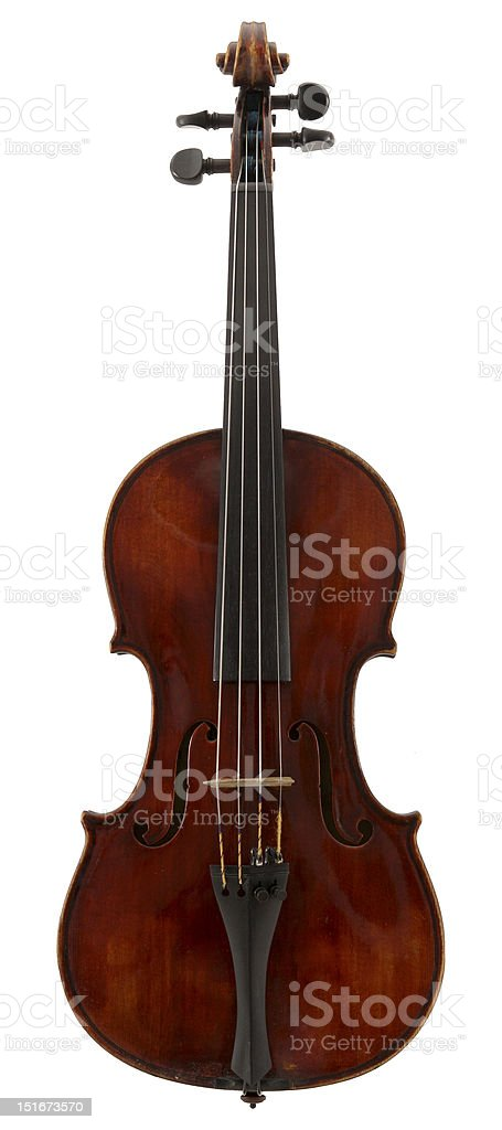 The Red Violin stock photo