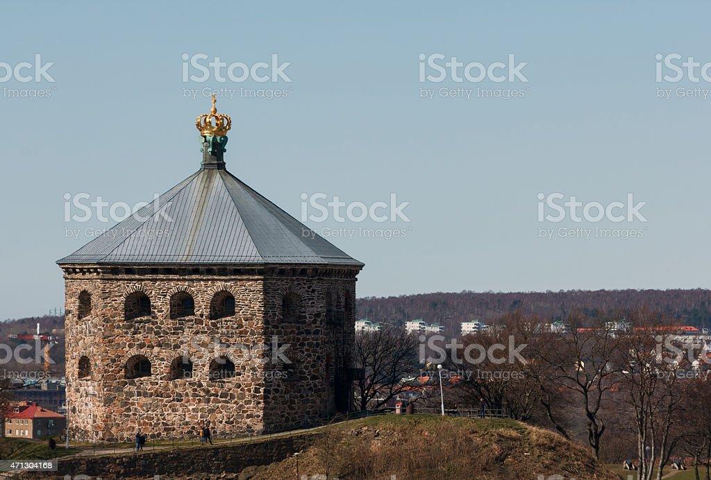 The redoubt Skansen Kronan in Gothenburg, Sweden stock photo