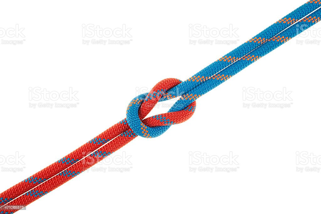 The Reef Knot Detail royalty-free stock photo