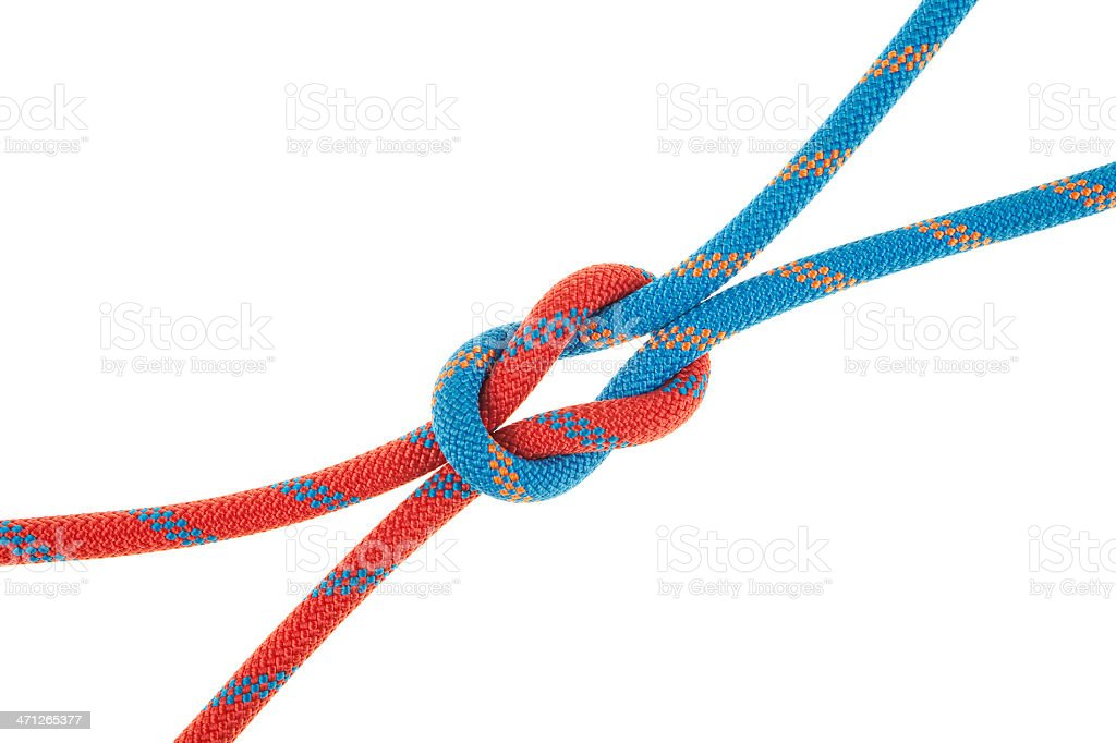 The Reef Knot Detail (open arm) stock photo