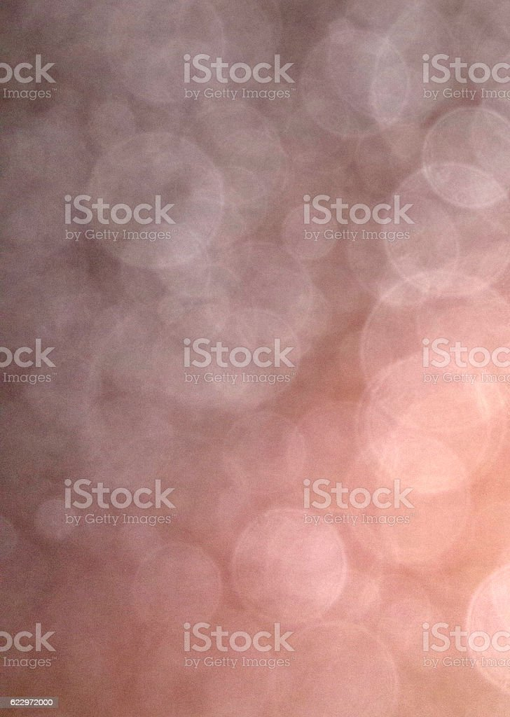 The refraction of light in the fog. stock photo