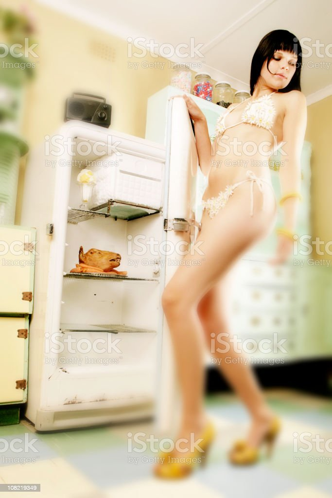 The Refridgerator stock photo