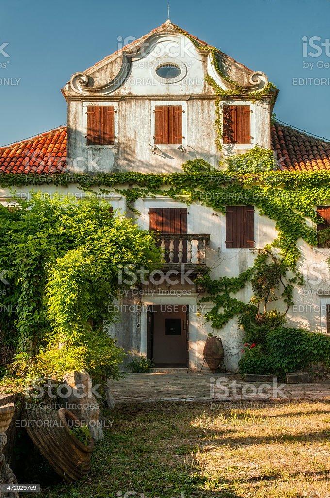 The Regional Museum of Herceg Novi, Montenegro stock photo