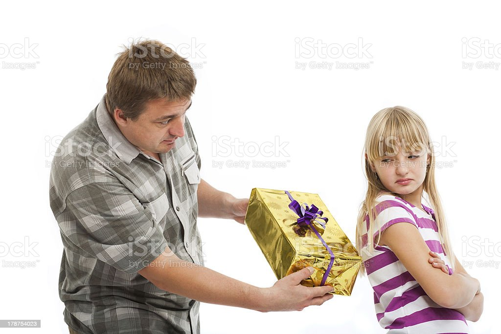 The Rejected Gift stock photo