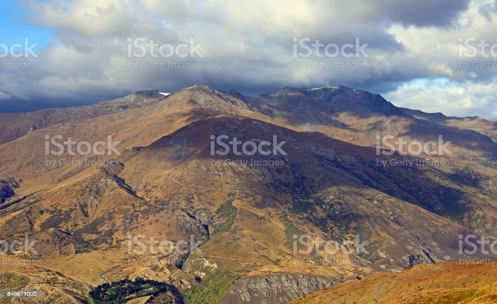 The Remarkables stock photo