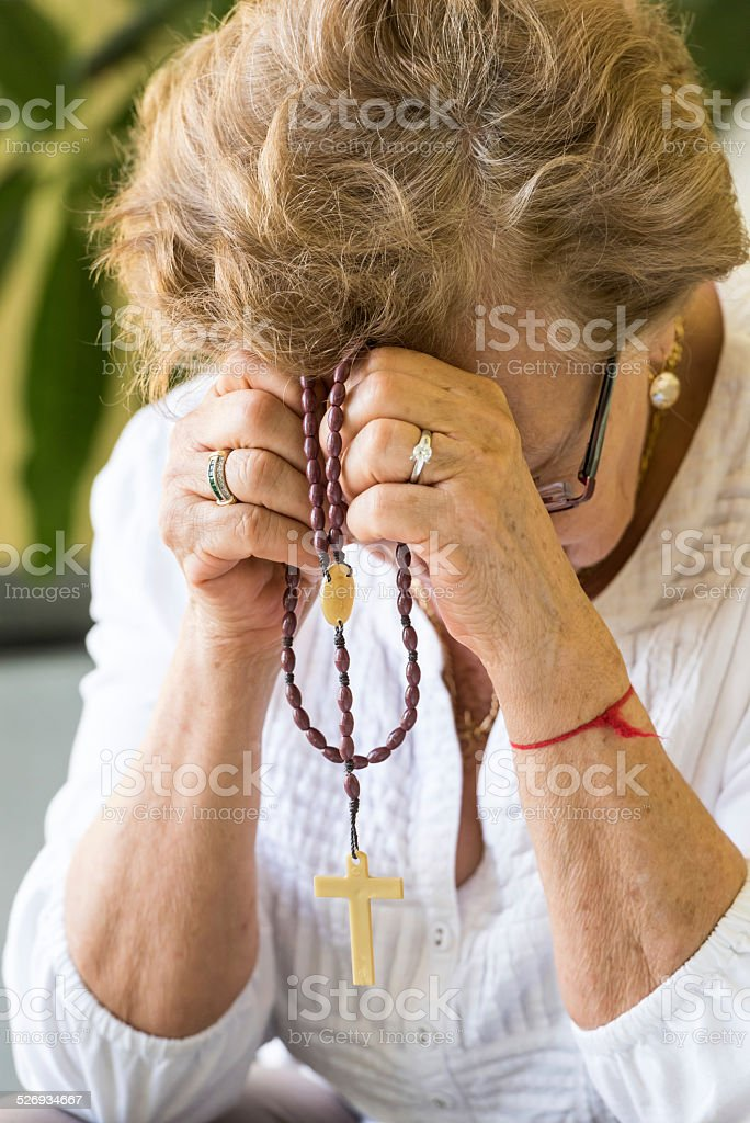 The Repentant stock photo