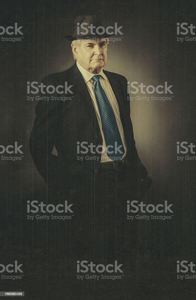 the reporter stock photo