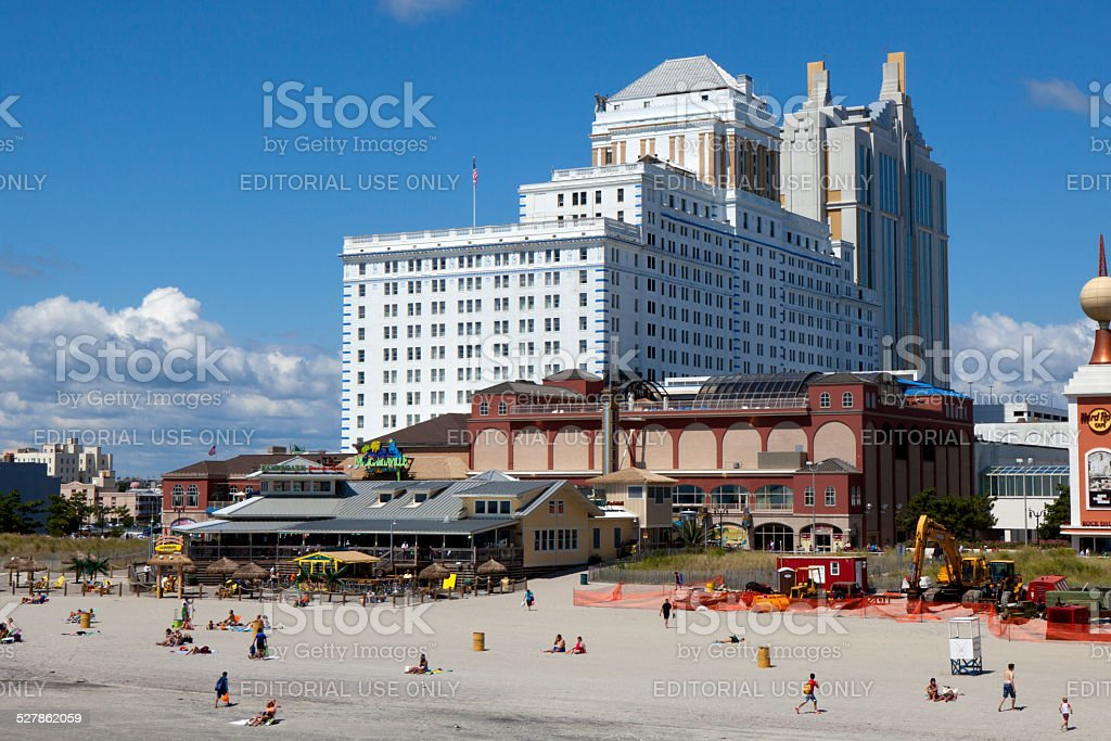 The Resorts Hotel and Casinos in Atlantic City, New Jersey stock photo