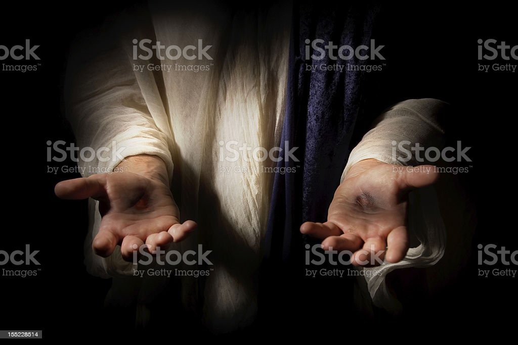 The Resurrected Christ stock photo