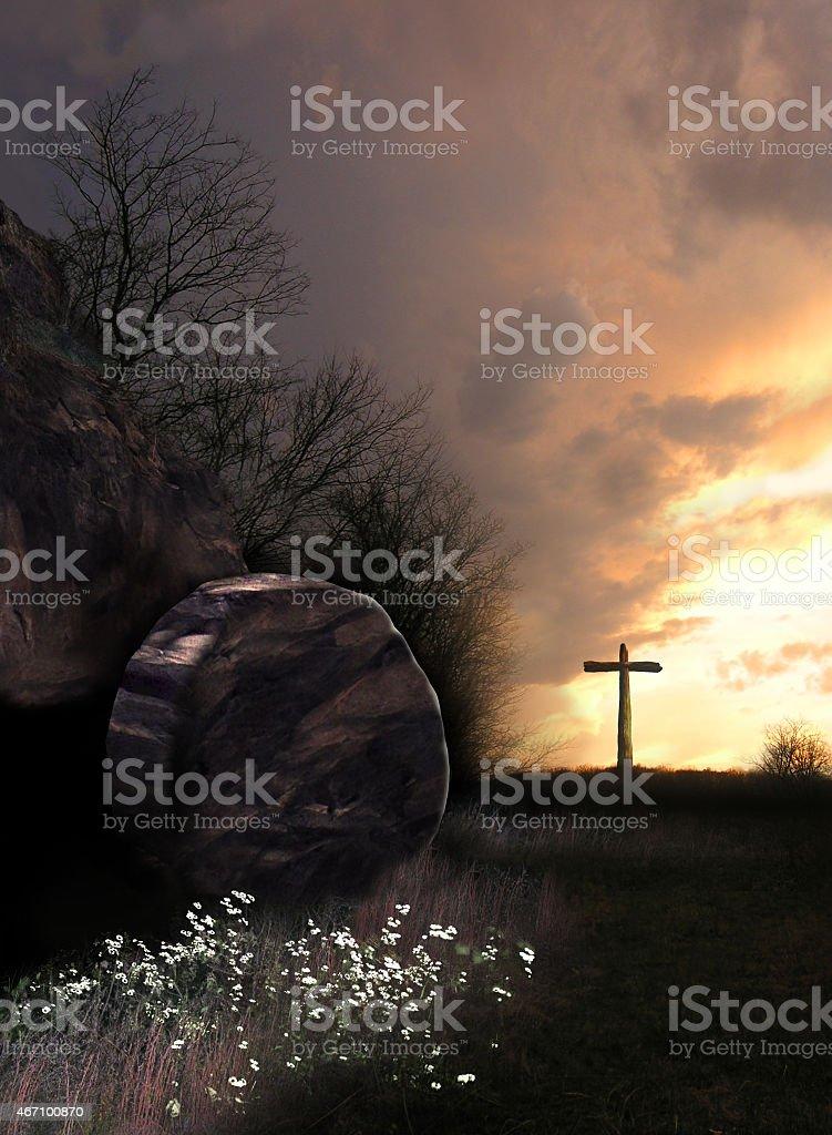 The Resurrection stock photo