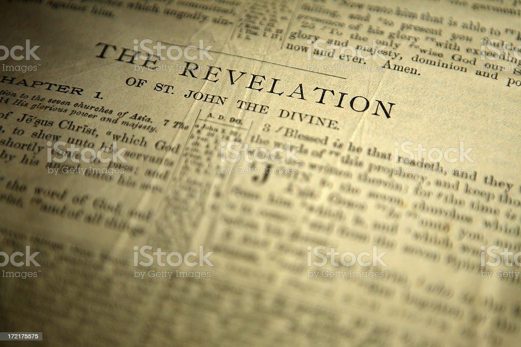 the revelation stock photo