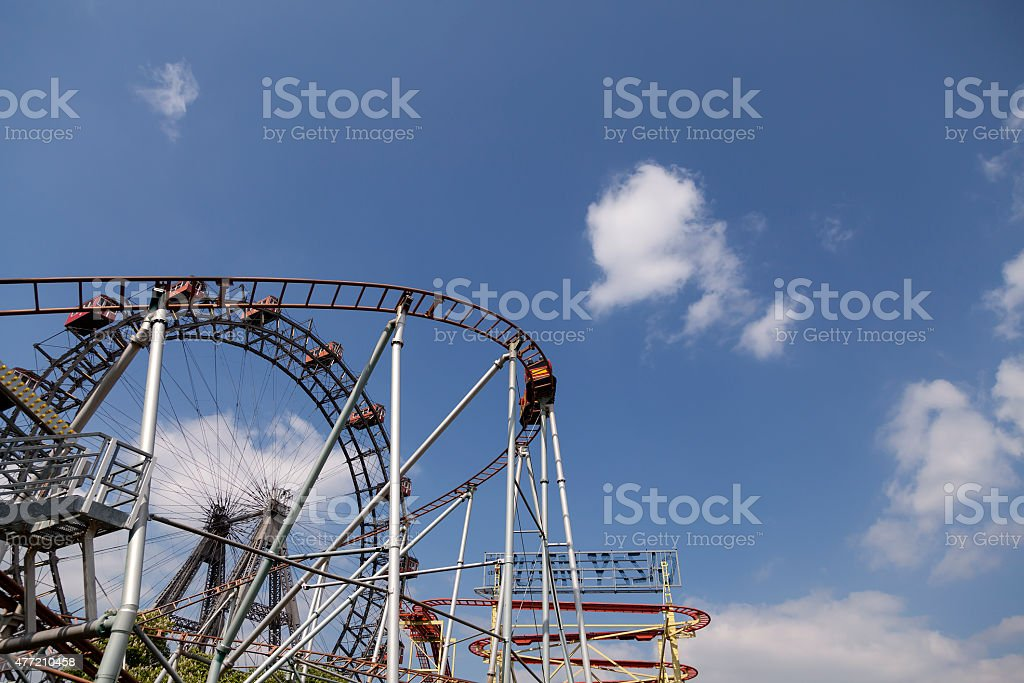 The ride royalty-free stock photo
