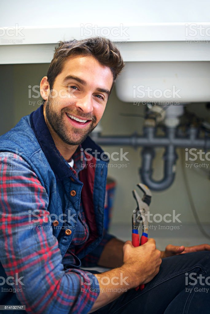 The right tool for the job stock photo