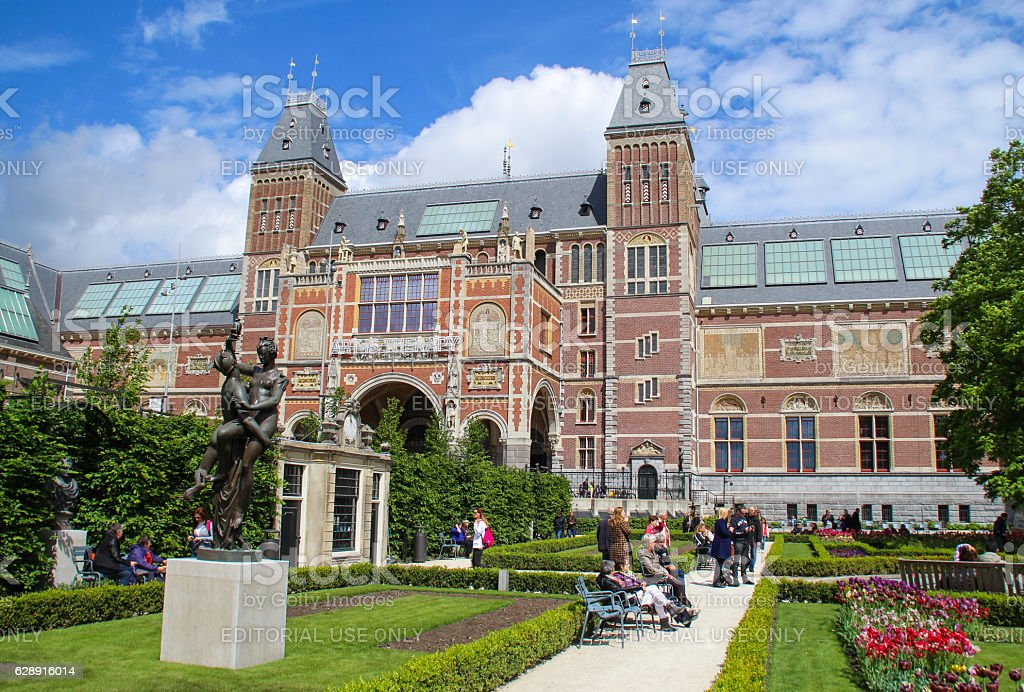 The Rijksmuseum stock photo