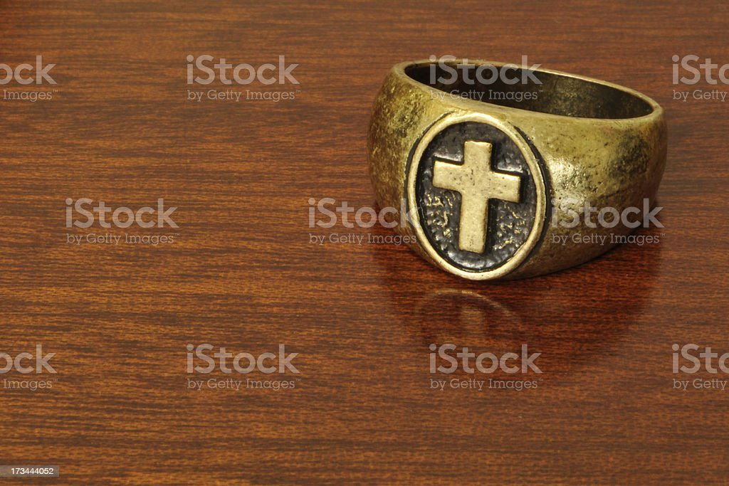 The Ring Of Truth stock photo