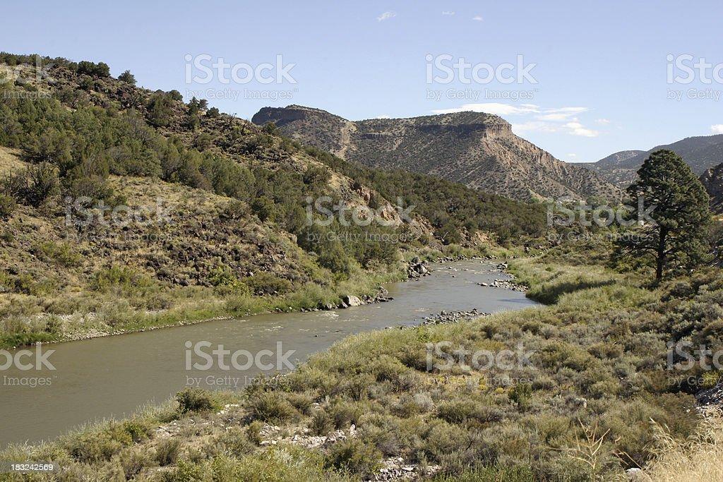 The Rio Grande royalty-free stock photo